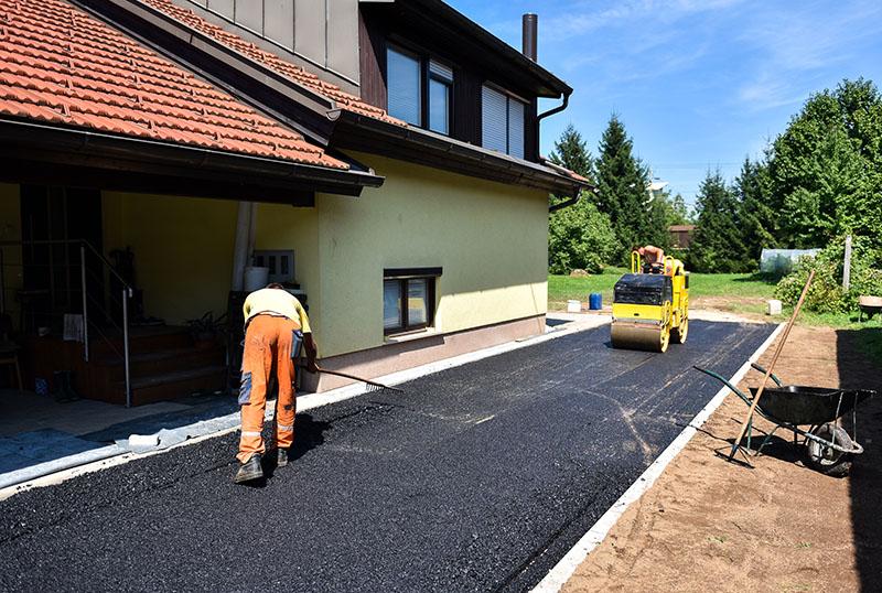 asphalt driveway residential miami